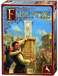 Cover der Spielebox Firenze