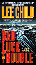 US-Cover Bad Luck and Trouble mit Jack Reacher von Lee Child
