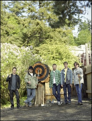 Pearl Jam im Wald