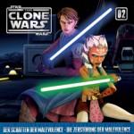 Cover der Clone-Wars-CD 2 (Der Schatten der Malevolence/ Die Zerstörung der Malevolence )