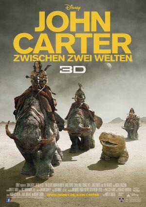 Filmplakat von John Carter - Zwischen Zwei Welten