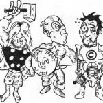 Thor, Captain America und Tony Stark alias Iron Man