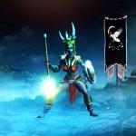 Ein weiblicher Witch Doctor aus Diablo 3