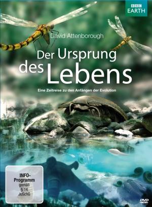 Cover der DVD Der Ursprung des Lebens von David Attenborough
