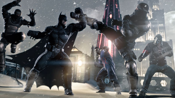 Batman Arkham Origins - Martialartist