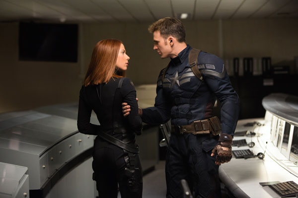 The Return of the First Avenger. Black Widow und Captain America