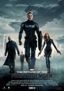 Captain America 2: The Return of the First Avenger. Filmplakat