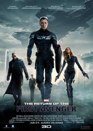 Captain America 2: The Return of the First Avenger. Filmplakat