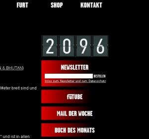 Ein Counter zeigt die Zahlenfolge 2096.