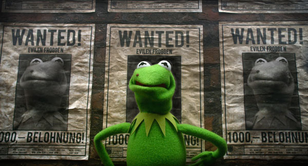 """""""MUPPETS MOST WANTED"""" (Pictured) KERMIT. Photo by: Jay Maidment ©2013 Disney Enterprises, Inc. All Rights Reserved."""