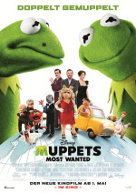 Muppets Most Wanted, Filmplakat