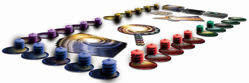 Cosmic Encounter Spielaufbau