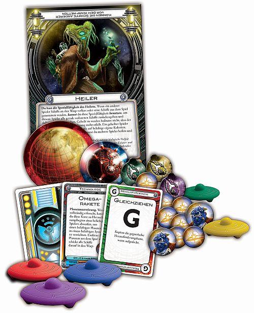 Cosmic Encounter Spielmaterial