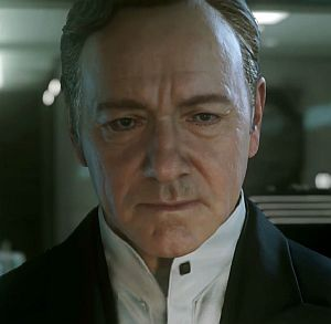 Kevin Spacey in Cal of Duty - Advanced Warfare