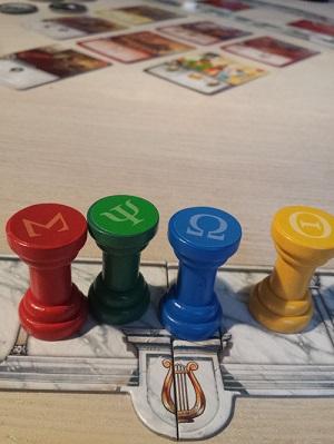 Die vier Säulen von Elysium.