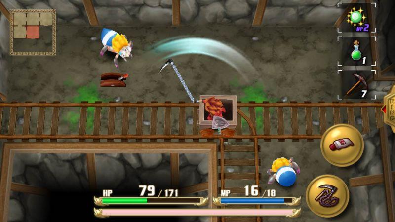Screenshot von Adventures of Mana