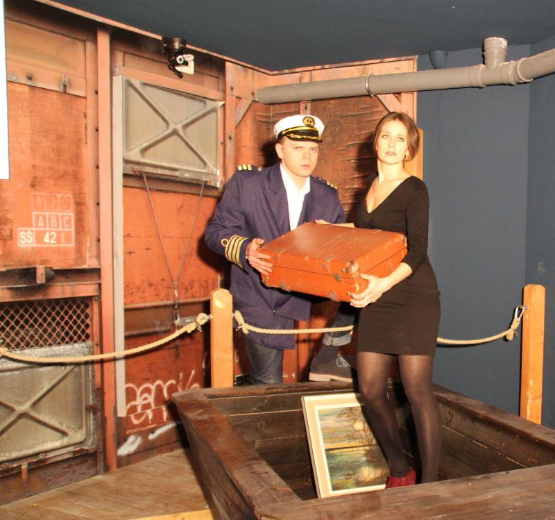 Titanic das groeßte Live Escape Game Show