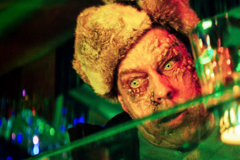 Zombie mit Pelzmütze