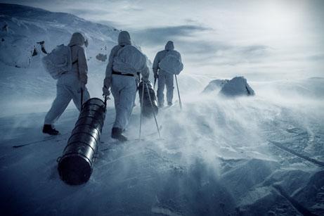 Operation Grouse im norwegischen Winter - Pandastorm