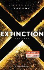 Extinction von Kazuaki Takano Cover