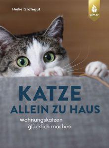 Katze allein zu Haus von Heike Grotegut, Cover