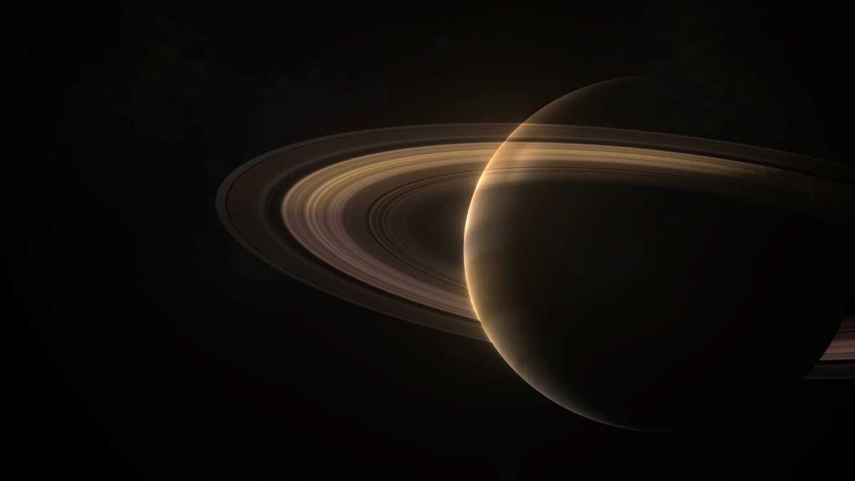 Saturn. Realaufnahme oder 3D-Animation? foto: BBC Earth