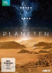 BBC Earth: Die Planeten Doppel-DVD, Cover