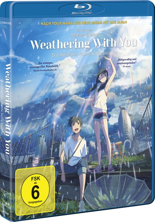 Blu-ray-Packung von Weathering With You