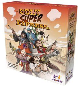 Spieleschachtel von Colt Super Express