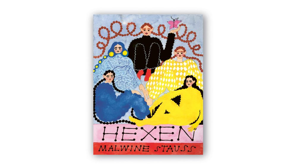 Cover von Hexen: Fünf langzöpfige Frauen schauen entspannt lächelnd.