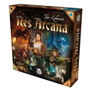 Boxansicht von Res Arcana.