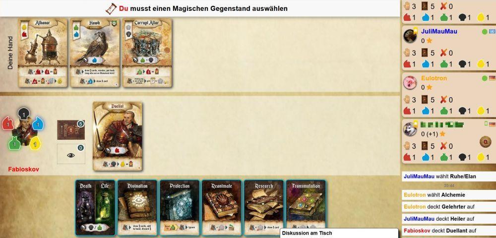 Screenshot von Res Arcana